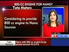 Considering to provide 800 cc engine to Nano : Tata Motors