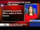 Considering to provide 800 cc engine to Nano : Tata Motors
