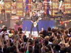 Fall Out Boy rocks plaza with 'My Songs'