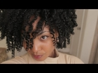 Curly Twist Out Tutorial: Heart-Shaped Hair for Valentine's Day