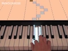 Piano projections help you play a tune