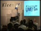Vincent Tsoi speaking at Kleeneze Dublin