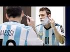 Lionel Messi & Roger Federer Trading Places Gillette #InnerSteel