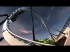 Six Flags Full Throttle POV HD Animation Magic Mountain Opened 2013 Roller Coaster Steel