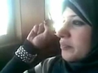 United Arab Emirates (UAE) Girl Smoking Cigarette Inside College Bus