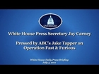 ABC's Jake Tapper Presses White House Press Secretary Jay Carney on Operation Fast & Furious
