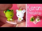 Kerori San-x Frog Friendship Charm Tutorial: Heart Lilypad, Valentines Tutorial #2 Polymer Clay.