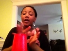 The cup song by Alexus Burke