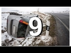 Winter Car Crash Compilation 9 NEW - CCC :)