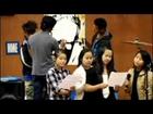 Karenni National Nashville Organization   sing the Gospel Song with Khu Ku Reh's drawing art