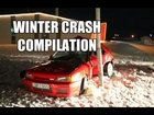 Winter Car Crash Compilation #1 [CRAZY]
