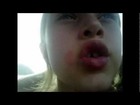 7 Year Old Makes Her Own Music Video While Waiting on Mom at Wal-Mart