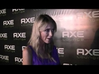 Katrina Bowden at the AXE Lounge