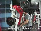 Back and Biceps Workout with Chinups, Rows, Pulldowns, Barbell Rows, Shrugs and Curls