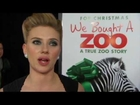 Scarlett Johansson Interview Snippet at 'We Bought a Zoo' Premiere