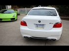 BMW M5 Revving w/ Eisenmann Race Exhaust