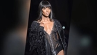Naomi Campbell in Lingerie In Paris and Miley Cyrus Edgy In Miami