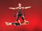Alyssa and Laura Duo Trapeze